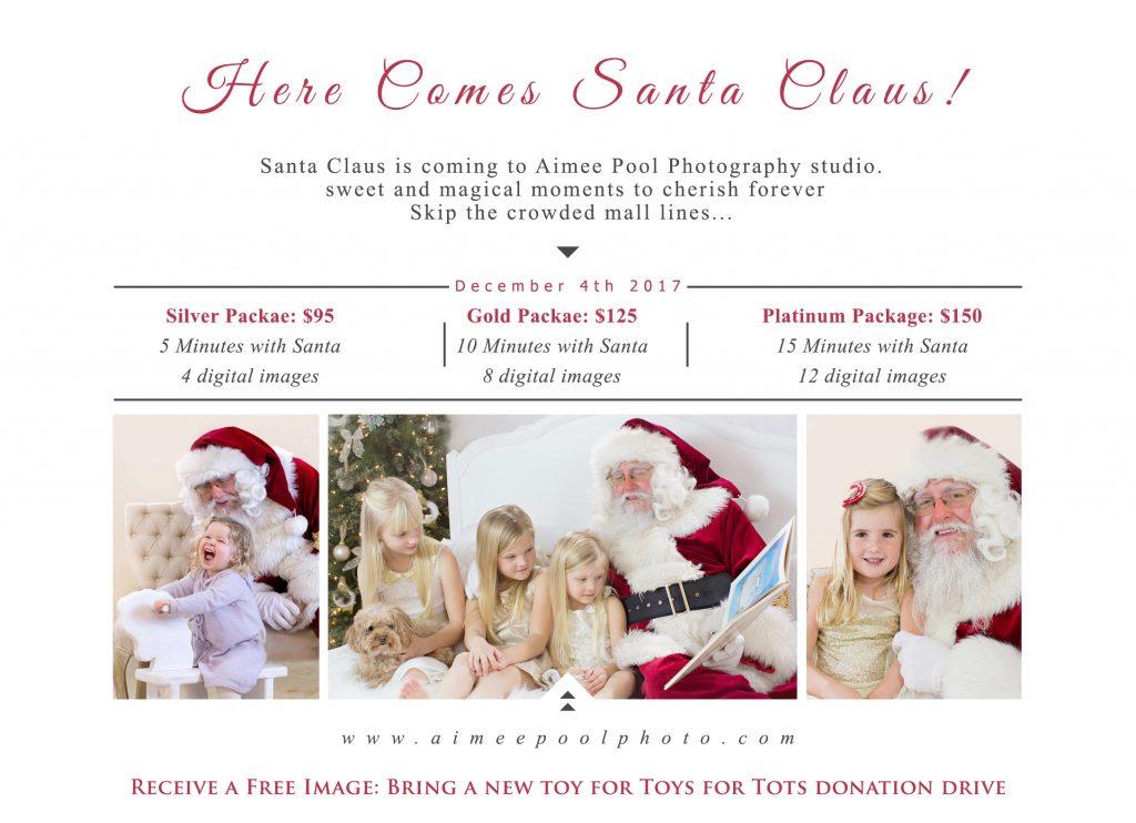 Santa Claus Sessions | Bay Area Ca | Natural & Organic